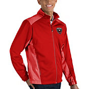 Antigua Men's D.C United Revolve Red Full-Zip Jacket