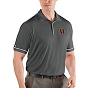 Antigua Men's Real Salt Lake Salute Grey Polo