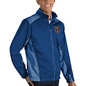 Antigua Men's Real Salt Lake Revolve Royal Full-Zip Jacket