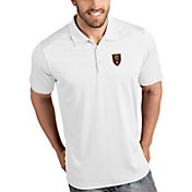 Antigua Men's Real Salt Lake Tribute White Polo