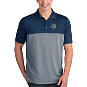 Antigua Men's Seattle Sounders Venture Navy Polo