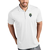 Antigua Men's Seattle Sounders Tribute White Polo