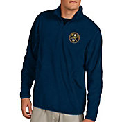 Antigua Men's Denver Nuggets Quarter-Zip Navy Ice Pullover