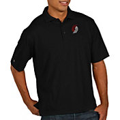 Antigua Men's Portland Trail Blazers Xtra-Lite Pique Performance Polo