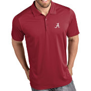 Antigua Men's Alabama Crimson Tide Crimson Tribute Performance Polo