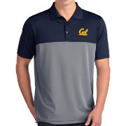 Antigua Men's Cal Golden Bears Blue Venture Polo