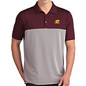 Antigua Men's Central Michigan Chippewas Maroon Venture Polo