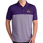 Antigua Men's East Carolina Pirates Purple Venture Polo