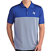 Antigua Men's Air Force Falcons Blue Venture Polo