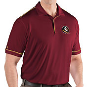 Antigua Men's Florida State Seminoles Garnet Salute Performance Polo