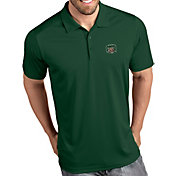 Antigua Men's Ohio Bobcats Green Tribute Performance Polo