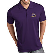 Antigua Men's James Madison Dukes Purple Tribute Performance Polo