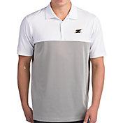 Antigua Men's Akron Zips Venture White Polo