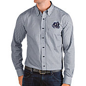 Antigua Men's Old Dominion Monarchs Blue Structure Button Down Long Sleeve Shirt