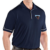 Antigua Men's Maine Black Bears Blue Salute Performance Polo