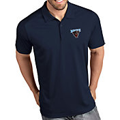 Antigua Men's Maine Black Bears Blue Tribute Performance Polo