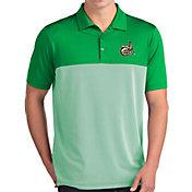 Antigua Men's Charlotte 49ers Green Venture Polo