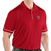 Antigua Men's NC State Wolfpack Red Salute Performance Polo