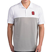 Antigua Men's NC State Wolfpack Venture White Polo