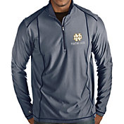 Antigua Men's Notre Dame Fighting Irish Navy Tempo Half-Zip Pullover