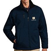 Antigua Men's Notre Dame Fighting Irish Navy Traverse Full-Zip Jacket