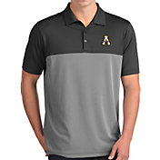 Antigua Men's Appalachian State Mountaineers Grey Venture Polo