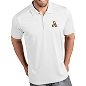 Antigua Men's Appalachian State Mountaineers Tribute Performance White Polo