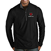 Antigua Men's Arkansas State Red Wolves Tempo Half-Zip Black Pullover
