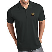 Antigua Men's Army West Point Black Knights Grey Tribute Performance Polo