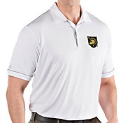 Antigua Men's Army West Point Black Knights Salute Performance White Polo