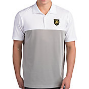 Antigua Men's Army West Point Black Knights Venture White Polo