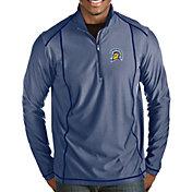 Antigua Men's San Jose State  Spartans Blue Tempo Half-Zip Pullover
