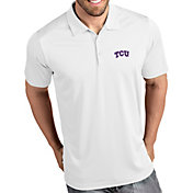 Antigua Men's TCU Horned Frogs Tribute Performance White Polo