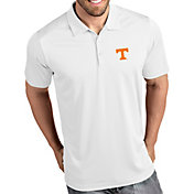 Antigua Men's Tennessee Volunteers Tribute Performance White Polo