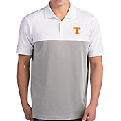 Antigua Men's Tennessee Volunteers Venture White Polo