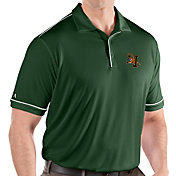 Antigua Men's Vermont Catamounts Green Salute Performance Polo