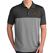 Antigua Men's Vermont Catamounts Grey Venture Polo