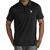 Antigua Men's Yale Bulldogs Yale Blue Quest Performance Polo