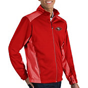 Antigua Men's San Francisco 49ers Revolve Red Full-Zip Jacket