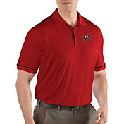 Antigua Men's San Francisco 49ers Salute Red Polo