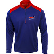 Antigua Men's Buffalo Bills Velocity Royal Quarter-Zip Pullover