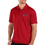 Antigua Men's Buffalo Bills Balance Red Polo