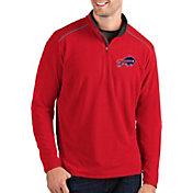 Antigua Men's Buffalo Bills Glacier Red Quarter-Zip Pullover