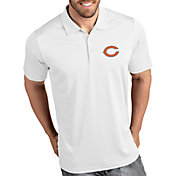 Antigua Men's Chicago Bears Tribute White Polo