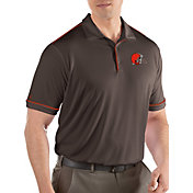 Antigua Men's Cleveland Browns Salute Brown Polo