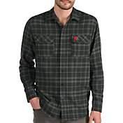 Antigua Men's Cleveland Browns Stance Long-Sleeve Flannel Top