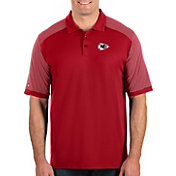 Antigua Men's Kansas City Chiefs Engage Performance Red Polo