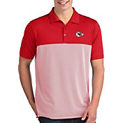 Antigua Men's Kansas City Chiefs Venture Red Performance Polo