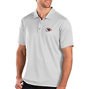 Antigua Men's Kansas City Chiefs Balance White Polo