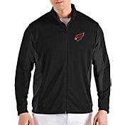 Antigua Men's Arizona Cardinals Passage Black Full-Zip Jacket
